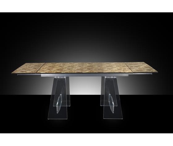Art. 1510 tavolo allungabile aperto