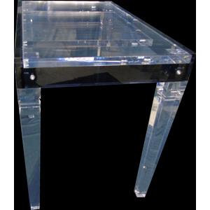 Tavolo plexiglas allungabile