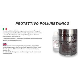 PROTETTIVO  POLIURETANICO - OPACO  COLORABILE