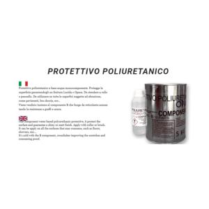 PROTETTIVO  POLIURETANICO - LUCIDO COLORABILE