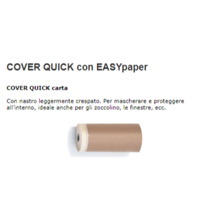 COVER QUICK CARTA 10cmX15mt