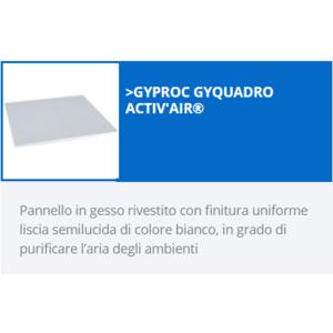 GYPROC GYQUADRO ACTIV'AIR    mq 3,60