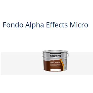 FONDO ALPHA  EFFECTS