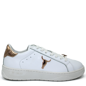 WINDSOR SMITH sneakers GALAXY brave white gold