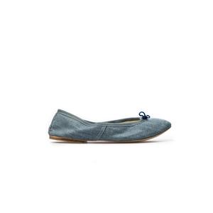 PORSELLI Ballerine 0095 tessuto jeans