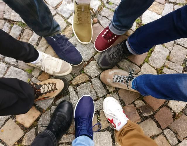 Brand trademark cobblestones community denim pants 609771 %281%29