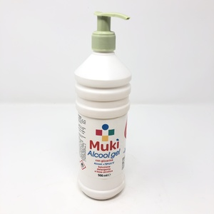 MUKI ALCOOLGEL 500ml C/DOSATORE