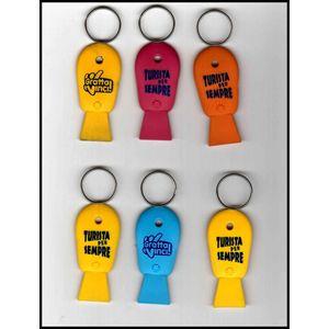100 Porta chiavi, apri bottiglia, luce a led