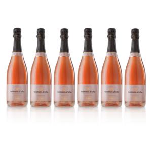 Spumante Brut Rosè Metodo Classico Nebbiolo d'Alba 2017 - 6 bottiglie