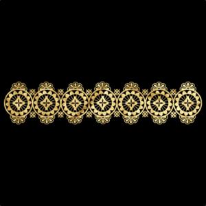 CAVEAU ROYALE BRACCIALE 16-GOLD