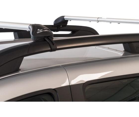 BARRE PORTATUTTO FIAT PANDA III AIR CROSS 2014 IN POI PER AUTO CON RAILING TRADIZIONALI CORRIMANO