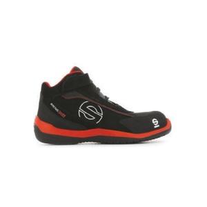 scarpe antinfortunistiche sparco racing evo rosso/nere