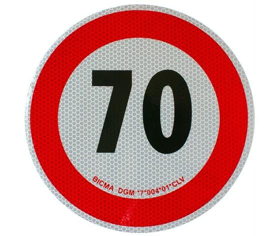 disco velocita 70 km/h