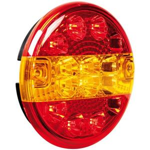 fanale rotondo posteriore led 3 funzioni 41529