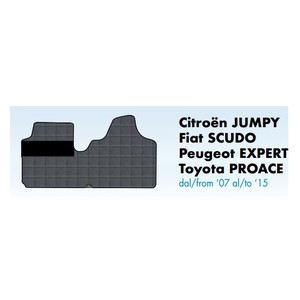 tappeti in gomma jumpy, scudo, expert proace