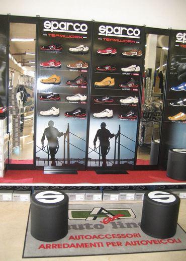 Esposizione scarpe