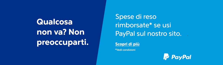 Banner paypal reso gratuito