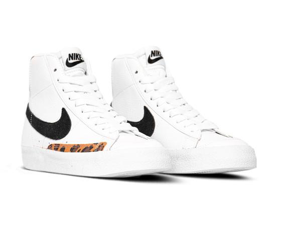 Nike blazer mid 77 white black dj4603 2