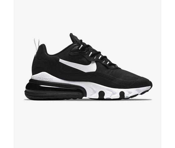 Nike 270 react black and white