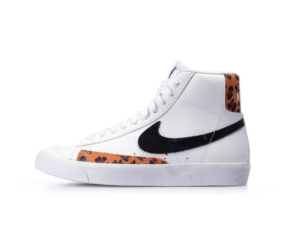 Nike blazer mid 77 white black dj4603 3