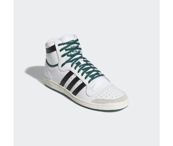 Ef6364  2 adidas top ten hi   cloud white  core black  collegiate green