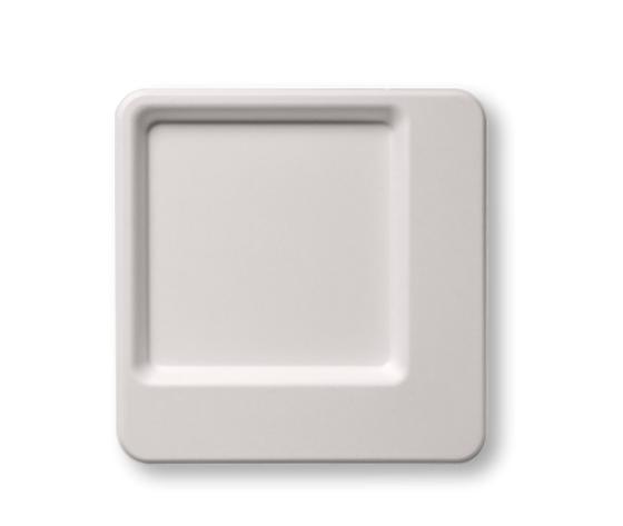 Piatto piano diamond 24x24 cm 50 pz