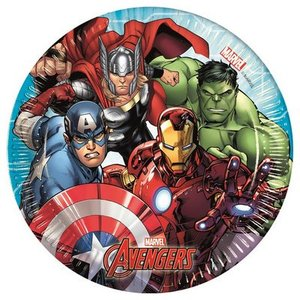 Piatto Avengers Mighty