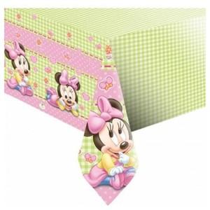 Tovaglia Minnie e Micky Baby Rosa
