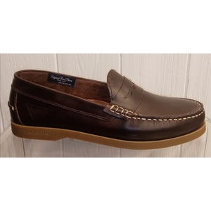 PRO-SAILING LOW M 005 LEATHER BROWN scarpa DOCKSTEPS