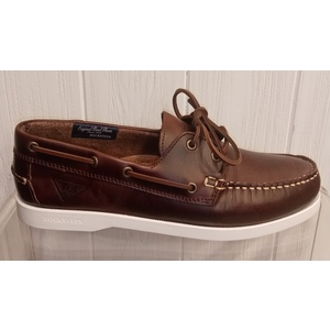 PRO-SAILING LOW M 002 LEATHER BORDEAUX scarpa DOCKSTEPS