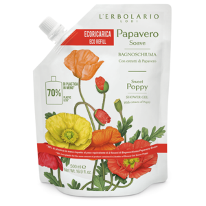 PAPAVERO SOAVE ECORICARICA BAGNOSCHIUMA 500 ML