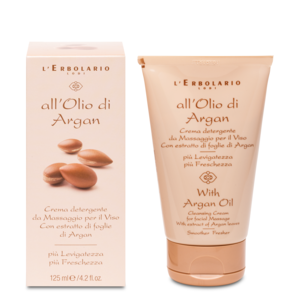 CREMA DETERGENTE VISO ALL'OLIO D'ARGAN 125 ml