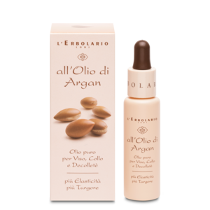 OLIO PURO D'ARGAN PER VISO, COLLO E DECOLLETE' 28 ml
