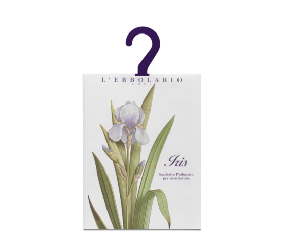 Sacchetto profumato per guardaroba iris