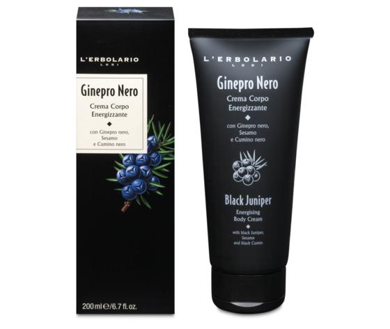 Crema corpo energizzante ginepro nero