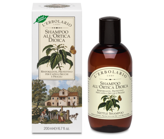 Ortica shampoo