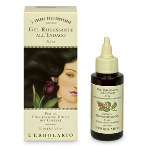 GEL RIFLESSANTE ALL'INDACO (NERO) 70 ml