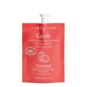 olio di cocco vergine biologico ed equosolidale COCCO 50 ml