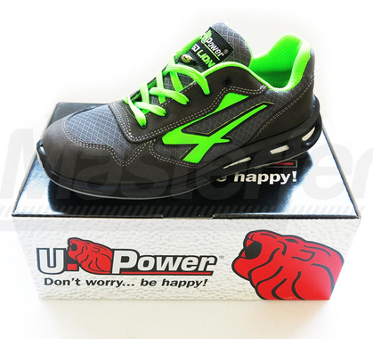U power point scarpe antinfortunistica