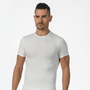 T-shirt uomo M/M girocollo cotone elasticizzato - 100% made in italy