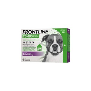 Frontline Combo per cani large 20-40 kg  3 pipette 4,02 ml