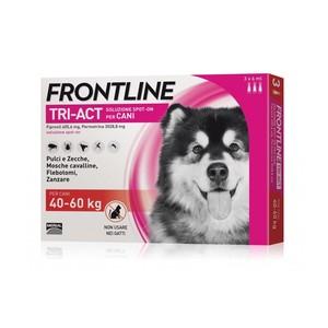 Frontline Tri-act per cani di peso tra 40 e 60 kg, 3 pipette 6 ml