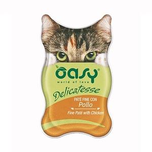 Oasy gatto delicatesse pate con pollo 85 gr