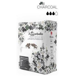 Ferribiella Assorbello Tappetini Igienici per Cani ai Carboni Attivi 60x60cm da 50 pz