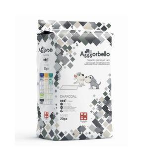 Ferribiella Assorbello Tappetini Igienici per Cani ai Carboni Attivi 60x90cm da 20 pz