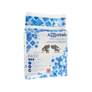 Ferribiella Assorbello Tappetino Igienico Basic 60X60 da 10PZ