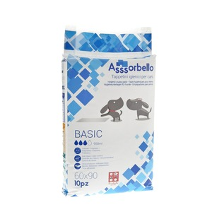 Ferribiella Assorbello Tappetino Igienico Basic 60X90 da 10PZ
