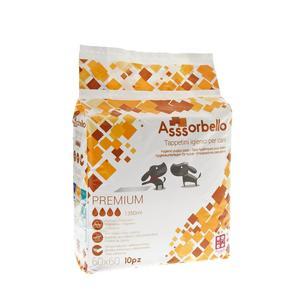 Ferribiella Assorbello Tappetino Igienico Premium 60X60 da 10PZ