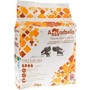 Ferribiella Assorbello Tappetino Igienico Premium 60X60 da 30PZ