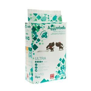 Ferribiella Assorbello Tappetino Igienico Ultra con Clorexidina 60X60 da 15PZ
